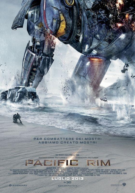 Pacific Rim: seconda locandina italiana del film