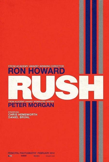 Rush: la locandina del film