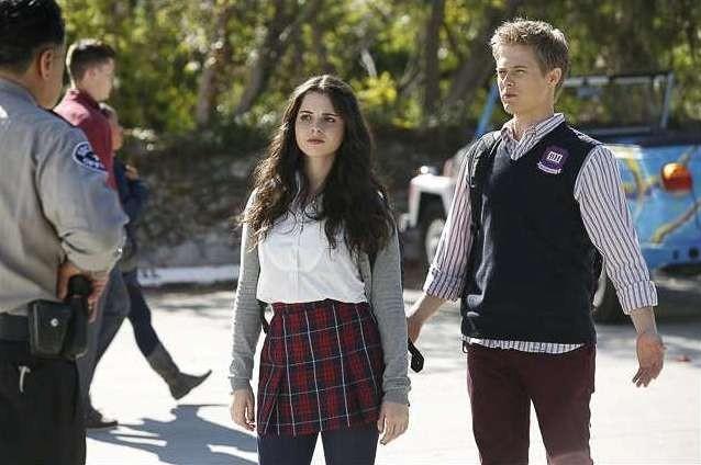 Switched at Birth; Lucas Grabeel con Vanessa Marano nell'episodio The Door to Freedom, della seconda stagione