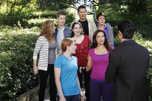 Switched at Birth; un'immagine dell'episodio The Door to Freedom, della seconda stagione