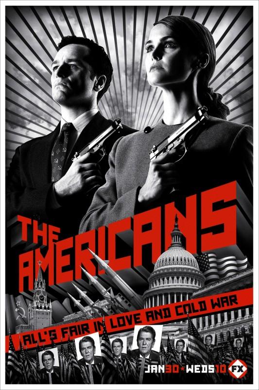 La locandina di The Americans