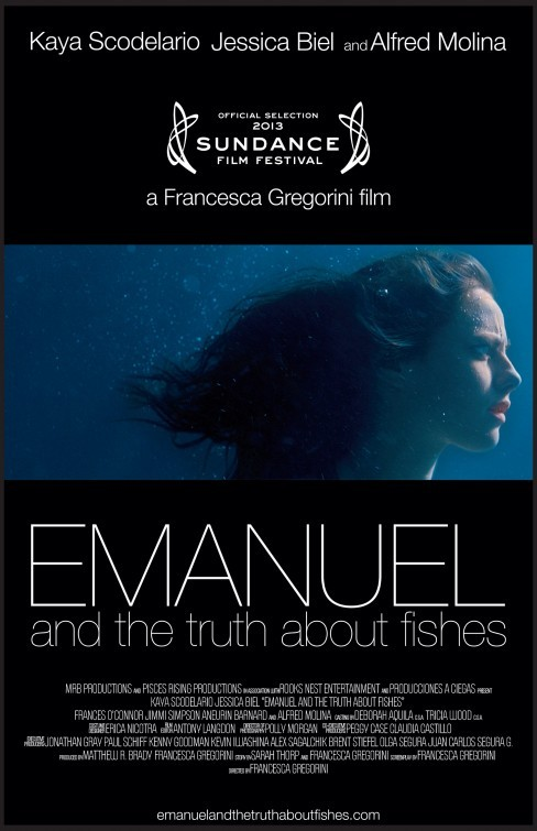 Emanuel and the Truth About Fishes: la locandina del film