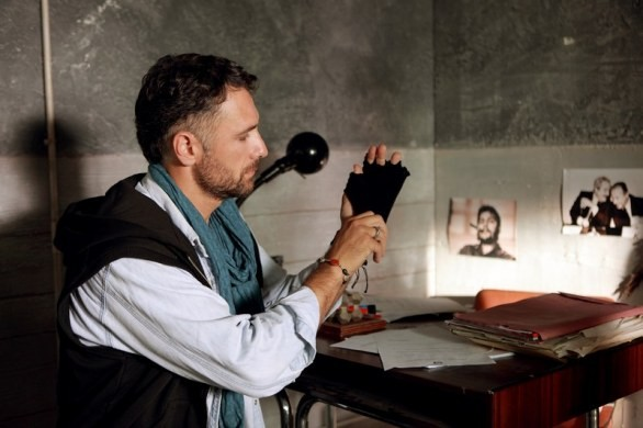Ultimo - l'occhio del falco - Raoul Bova in una scena del film TV