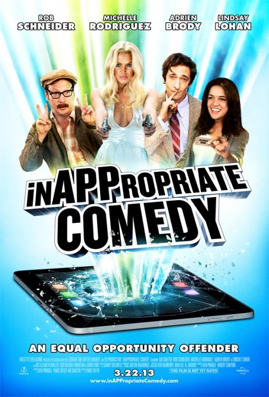InAPPropriate Comedy: la locandina del film