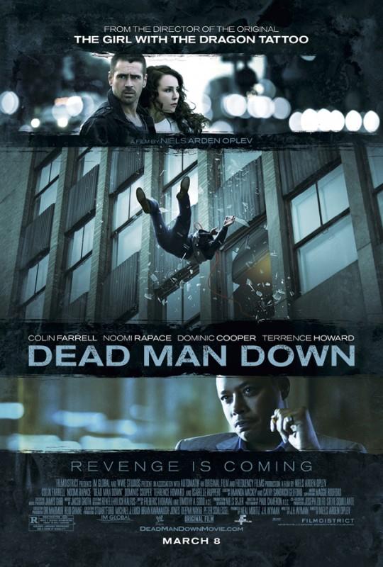 Dead Man Down: la prima locandina