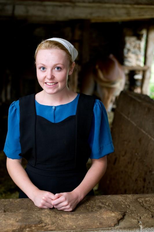 La mia vita con gli Amish: Charlotte Allison in una immagine promo dello show