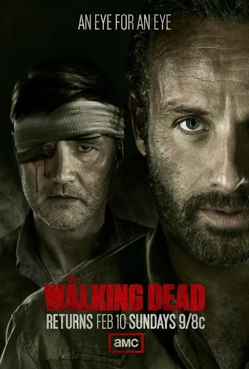 The Walking Dead: un poster per il ritorno in onda in USA della stagione 3 della serie, previsto per il 10 Febbraio
