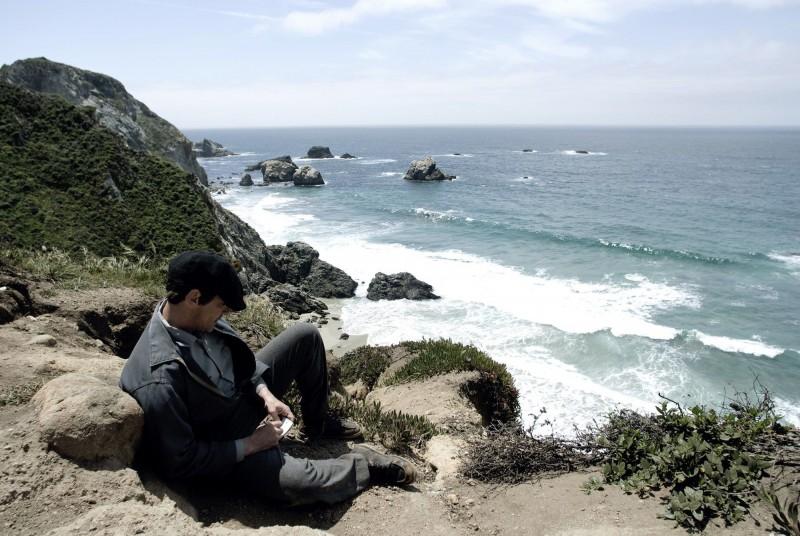 Big Sur: Jean-Michael Barr in una scena del film