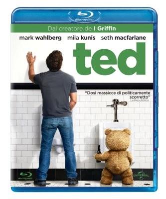 La copertina di Ted (blu-ray)