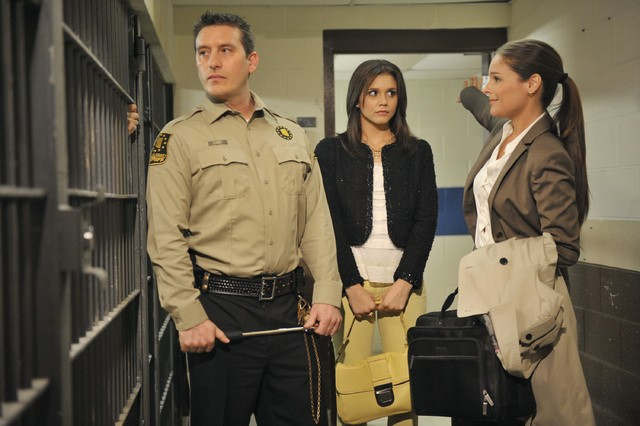 The Lying Game: Christian Bowman, Alexandra Chando e Blair Redford nell'episodio Not Guilty As Charged