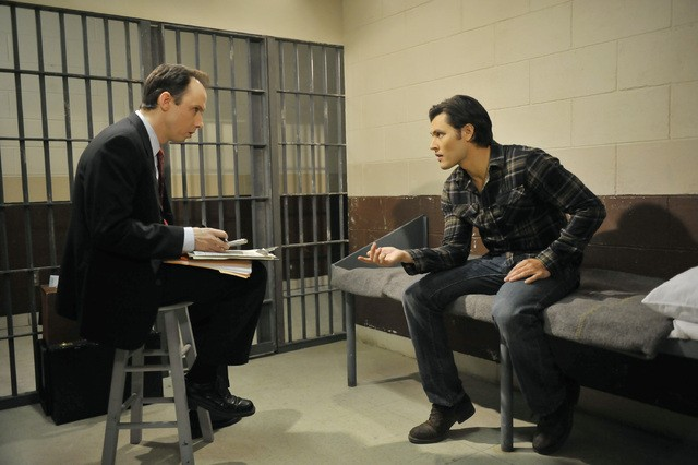 The Lying Game: David Bewley e Blair Redford nell'episodio Not Guilty As Charged