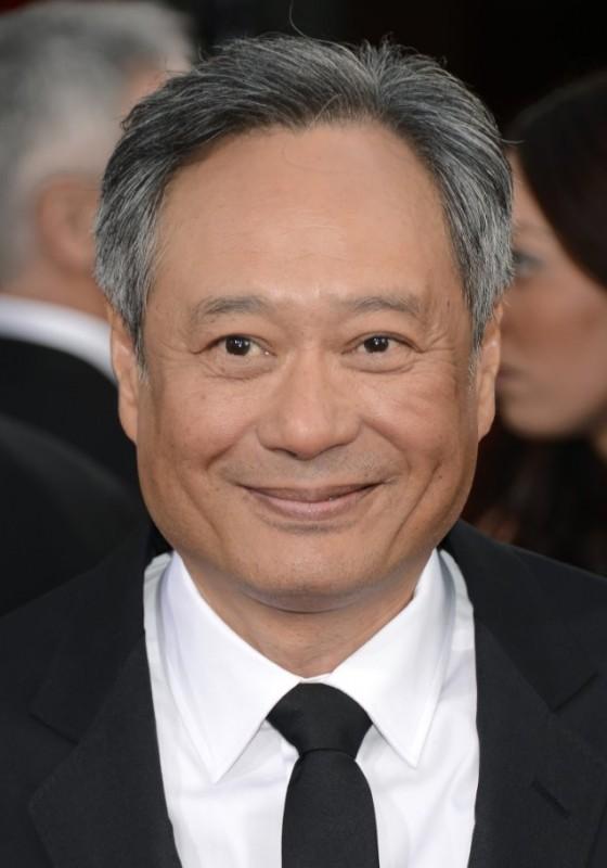 Ang Lee sul red carpet dei Golden Globes 2013 per Vita di Pi