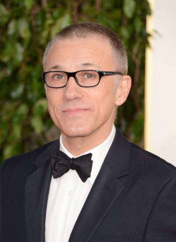 Christoph Waltz sul red carpet dei Golden Globes 2013 per Django Unchained