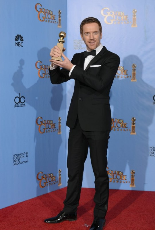 Damian Lewis vince il Golden Globes 2013 come attore protagonista per Homeland