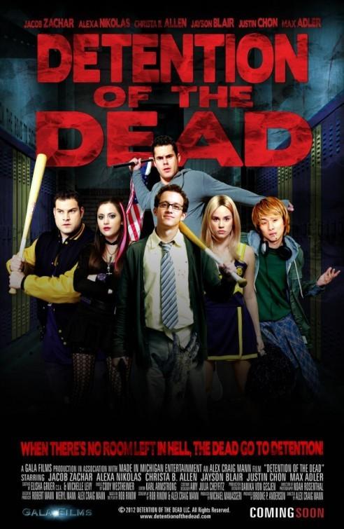 Detention of the Dead: la locandina del film