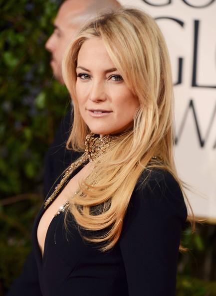 Golden Globes 2013: Kate Hudson con un abito di Alexander McQueen