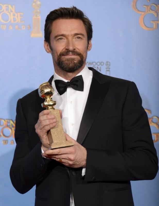 Hugh Jackman vince il Golden Globes 2013 come attore protagonista per Les Misérables