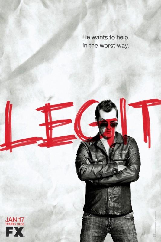 La locandina di Legit