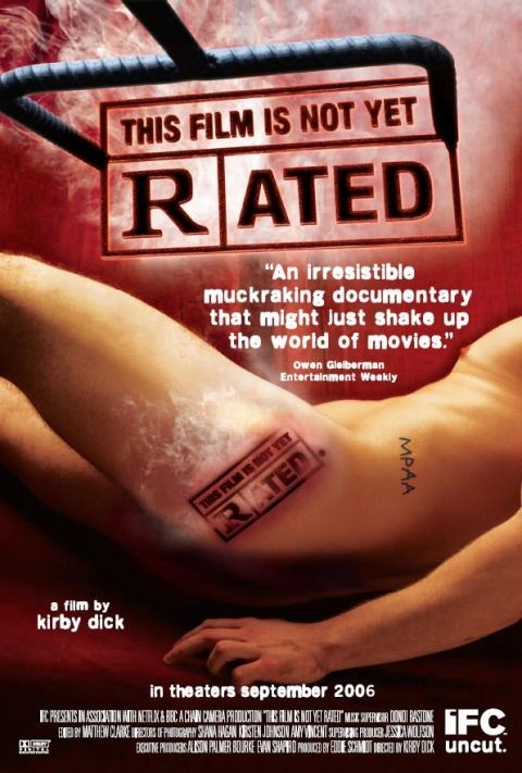 This Film Is Not Yet Rated: la locandina del film