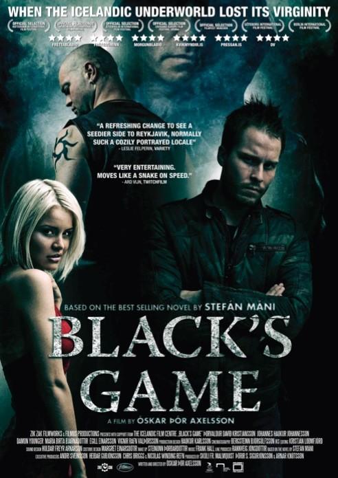 Black\'s Game: la locandina del film