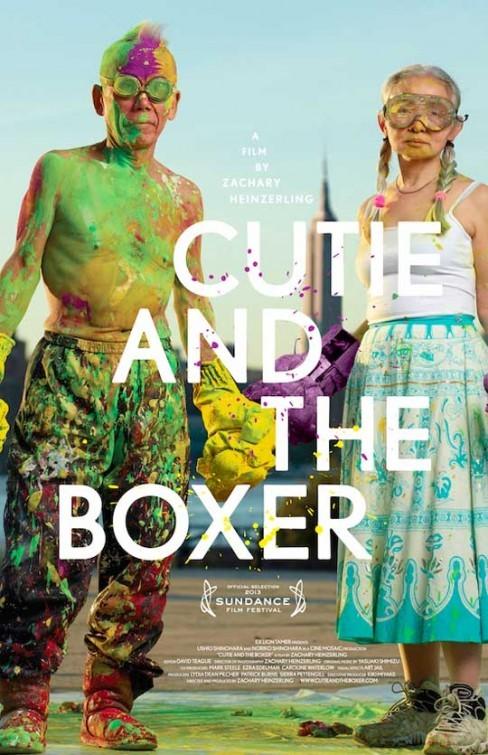 Cutie and the Boxer: la locandina del film