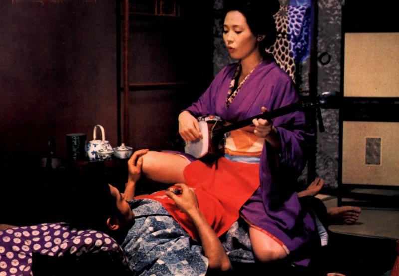 L'impero dei sensi, una scena del film giapponese