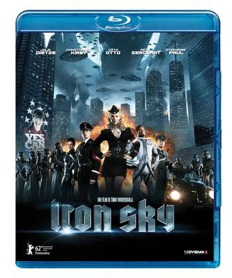 La copertina di Iron Sky (blu-ray)