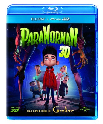 La copertina di ParaNorman 3D (blu-ray)