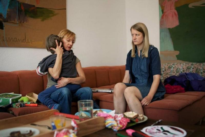 Stephanie Stremler e Susanne Lothar nel dramma tedesco Staub auf unseren Herzen