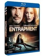 La copertina di Entrapment (blu-ray)