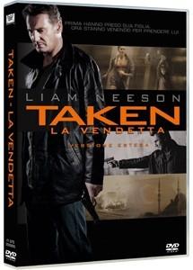 La copertina di Taken: la vendetta (dvd)