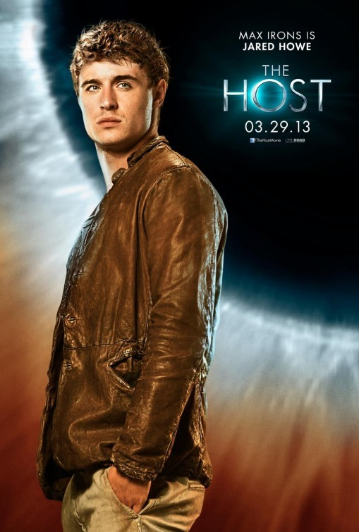The Host: Max Irons in un character poster