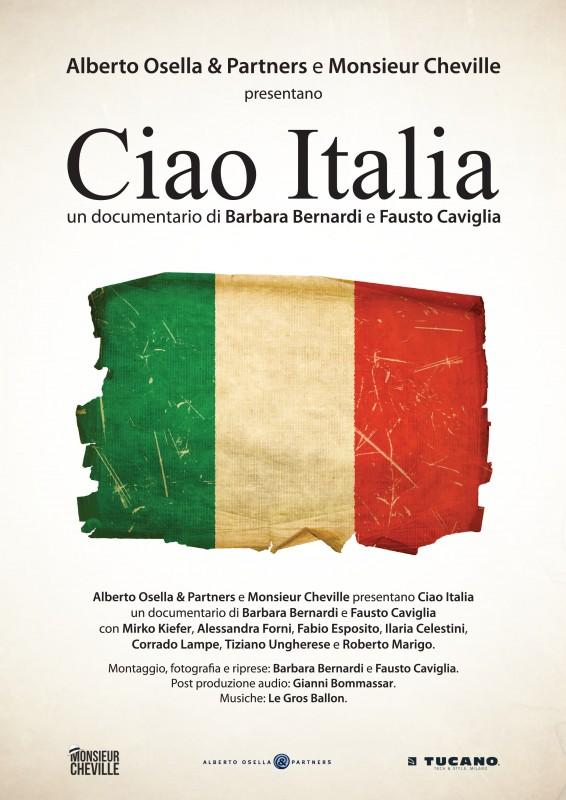 Ciao Italia: la locandina del film