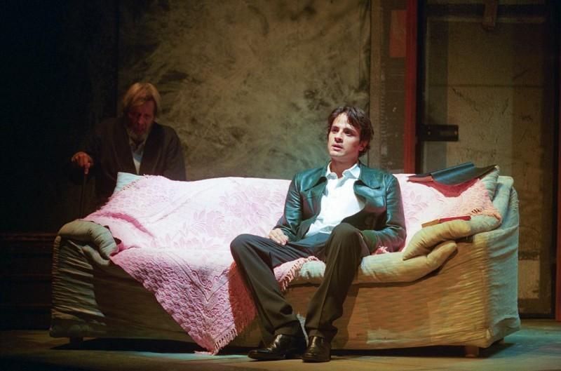 Maximilian Nisi a teatro con Visiting Mr Green di Jeff Baron
