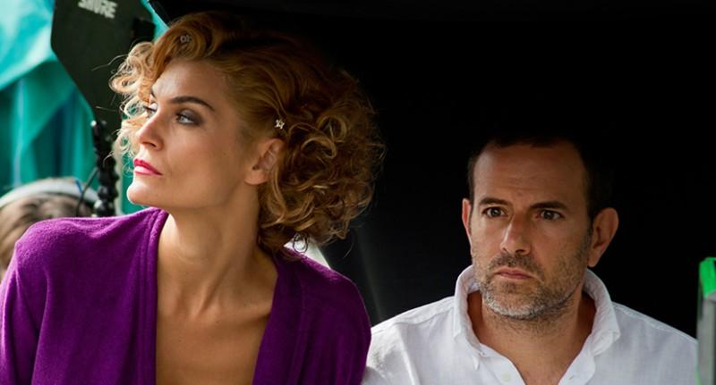 Pazze di me - Claudia Zanella con Fausto Brizzi sul set del film