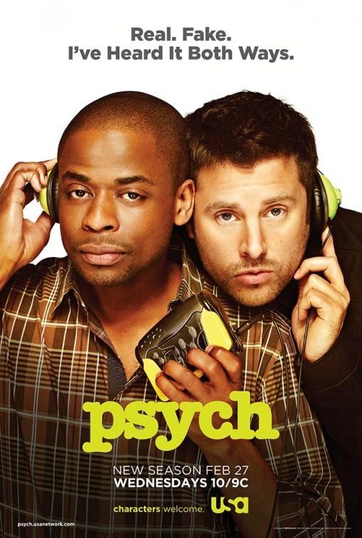 Psych: un poster della stagione 7