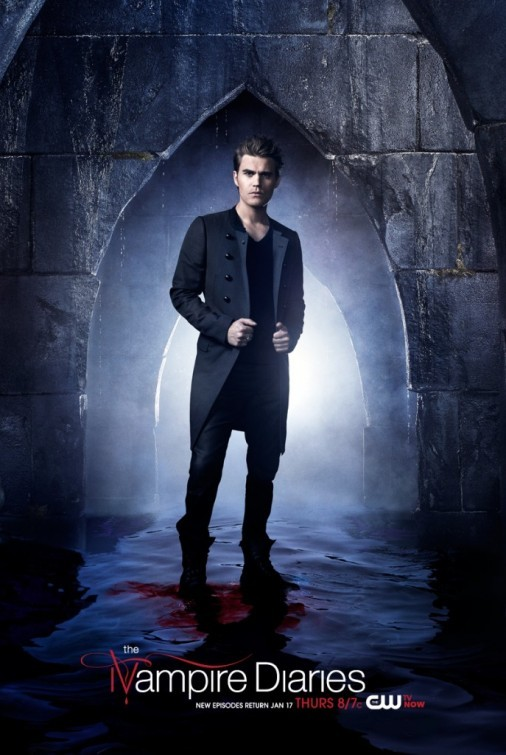 The Vampire Diaries: Paul Wesley in un character poster della stagione 4