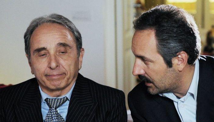 Ernesto Mahieux e Antonio Andrisani. in Una domenica notte