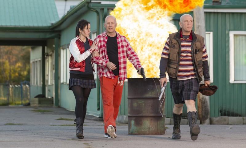 Red 2: Bruce Willis, John Malkovich e Mary-Louise Parker in azione