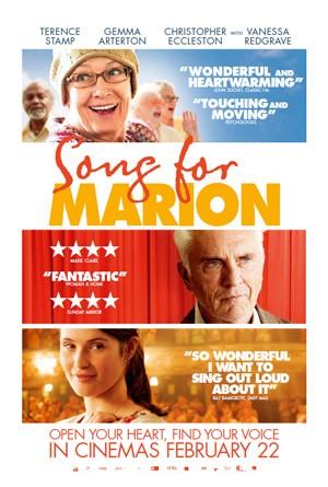 Song for Marion: la locandina del film