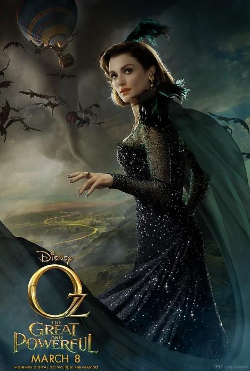 Il grande e potente Oz: character poster per Rachel Weisz