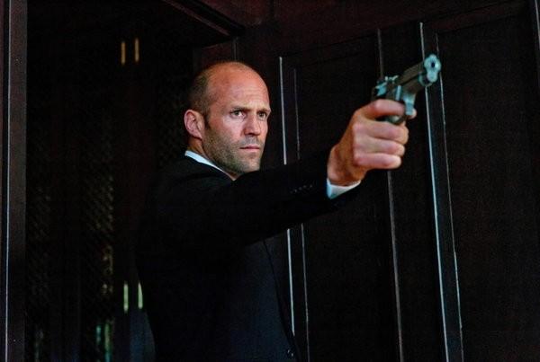 Jason Statham in una scena di 'Parker' action poliziesco del 2013