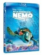 La copertina di Alla ricerca di Nemo (blu-ray)