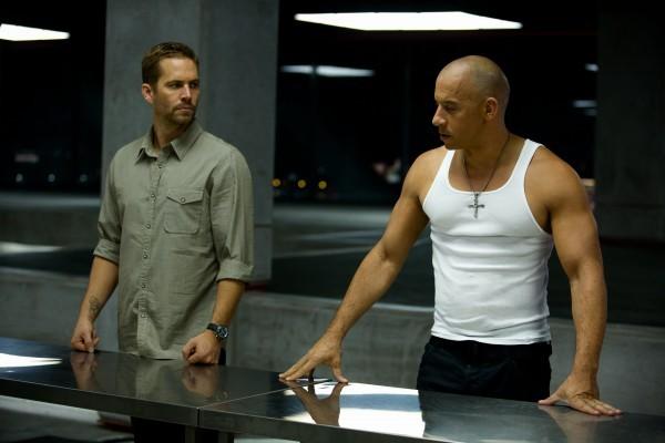 Vin Diesel e Paul Walker in un'immagine di Fast & Furious 6