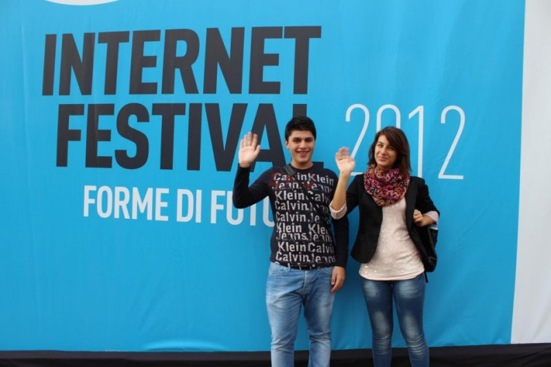 Antonio Tocci all'Internet Festival di Pisa