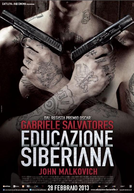 Educazione Siberiana: la locandina del film