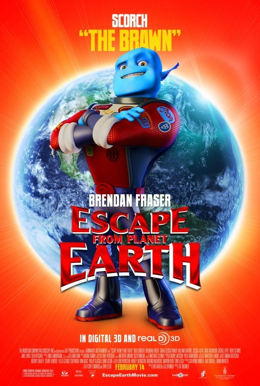 Escape from Planet Earth: Character Poster 2