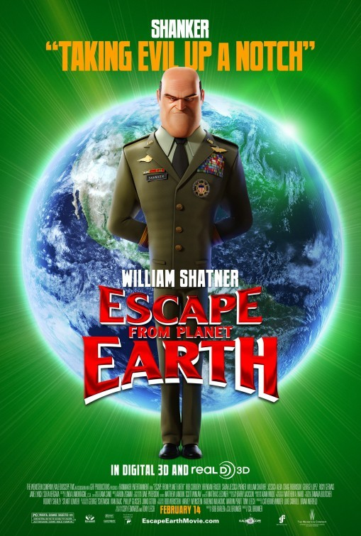 Escape from Planet Earth: Character Poster 3