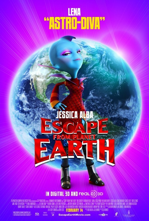 Escape from Planet Earth: Character Poster 6