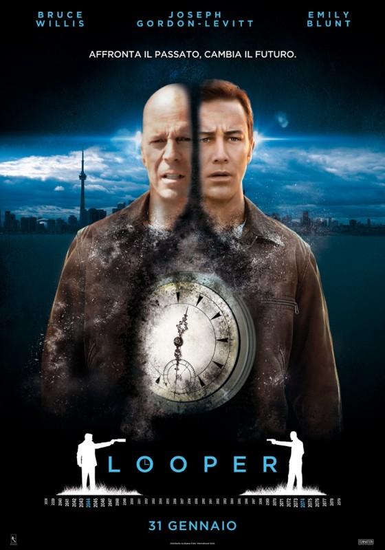 Looper: locandina italiana definitiva